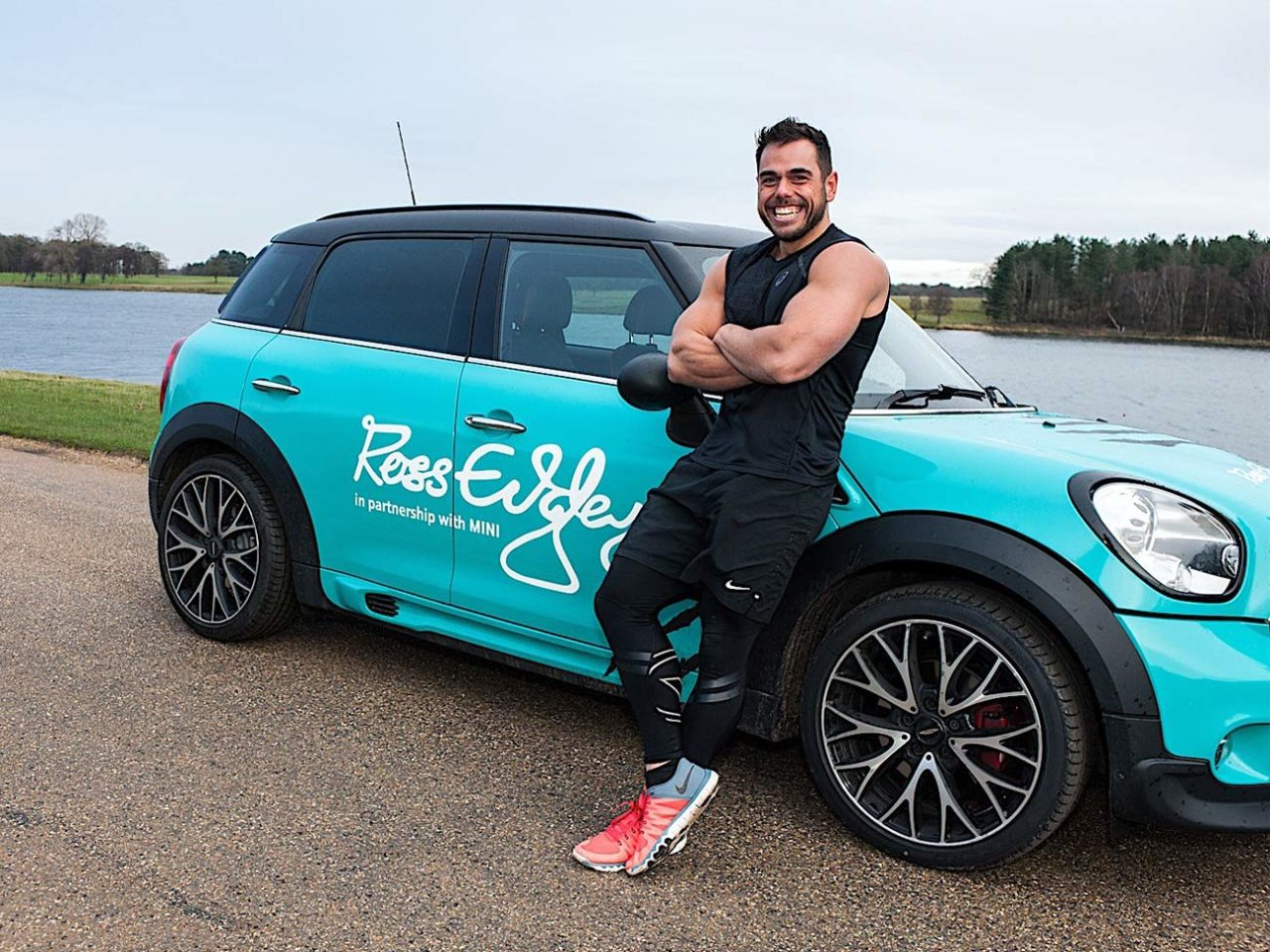 ross Edgley Worlds Fittest Marathon